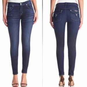 HUDSON // Mid Rise Lily Skinny Jeans